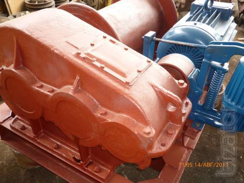 Цена – 2 900 000 Лебедка маневровая электрическая г/п 10 тонн ЛМ-10 с тросом