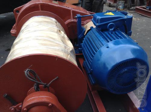 Лебедка маневровая электрическая г/п 8 тонн ЛМ-8 с тросом