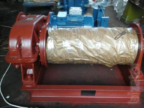 Лебедка маневровая г/п 7 тонн ЛМ-7 с тросом