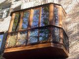 Балконы под ключ. Расширение балконов и остекление. Замена окон.