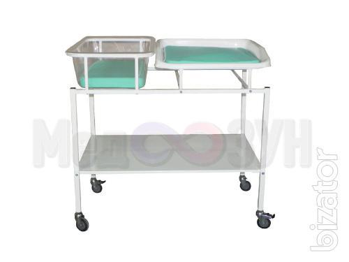 Кровать для новорожденных с пеленальным столиком КНПС