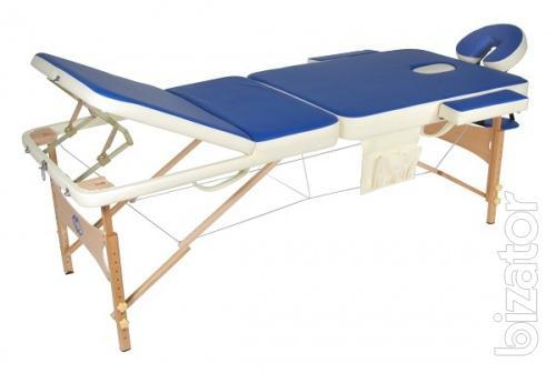 Массажный стол складной деревянный JF-AY01(М/К) 3-х секционный