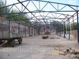 Монтаж металлоконструкций Хмельницкий.  Строительство зернохранилища.