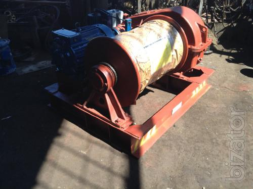 Лебедка маневровая электрическая г/п 3,2 тонны ЛМ-3,2 с тросом