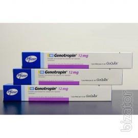 Генотропин (Genotropin).36МЕ (12мг), Соматропин - гормон роста,  Бельгия
