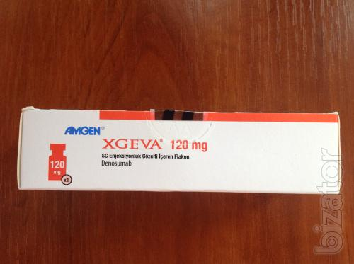 Иксджива, Эксджива, Xgeva 120 mg (Деносумаб, Denosumab)