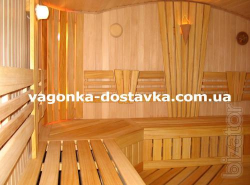 Вагонка дерев'яна: сосна, липа, вільха