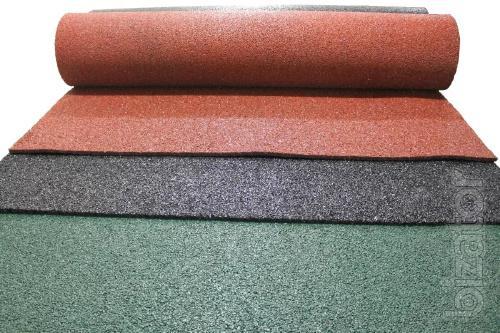 Резиновая плитка, рулоны, бесшовное покрытие
