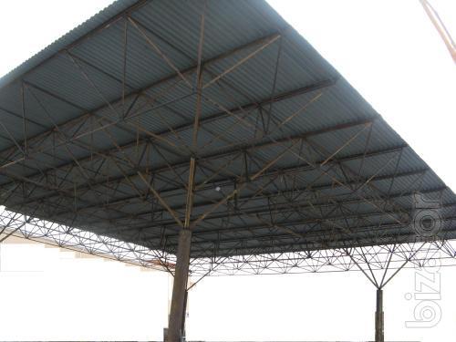Ангар модуль Кисловодск 30х30м, других размеров