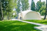 Арочный шатер 10х10 «Дюна» (100м2)