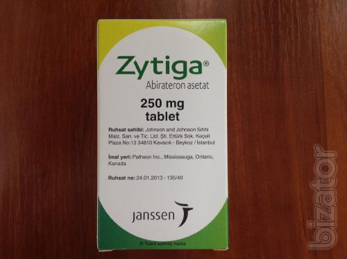Зитига (абиратерона ацетат) 250 мг, №120