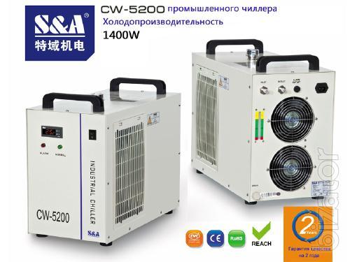 Охладитель воды CW-5200 S&A для резца лазера 130W