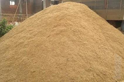Пісок крупнозернистий Луцьк пісок в мішках