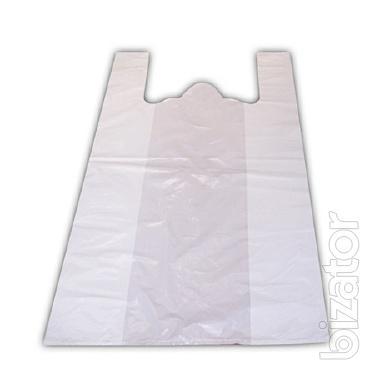 Белый пакет майка 28х50 см, 5,5 мкм, 100 шт