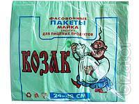 Пакет майка Козак 22х40 см, 100 шт