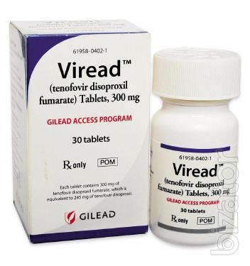 Viread (Виреад) лечение гепатита B