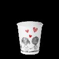 "Бумажный стакан 175 мл. ""Р"" Love is 50шт (30/1500) (КР69)"