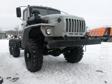 Шасси Урал 4320 после полного капитального ремонта