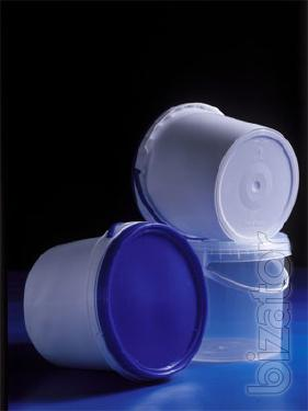 Ведро полипропиленовое для пищевой,химической промышленности на 3.41л