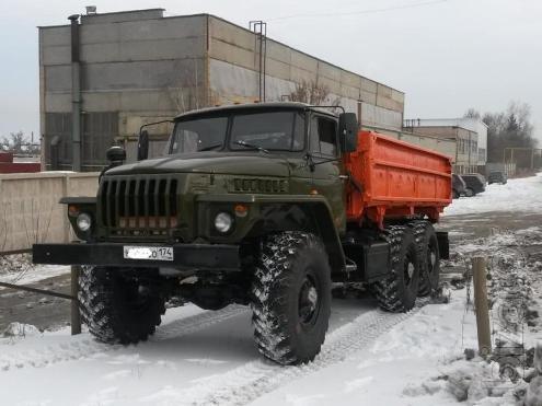 Урал 5557 Сельхозник (самосвал с боковой разгрузкой) на шасси без пробега