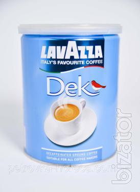 Кофе молотый Lavazza Decaffinato 250г  банка