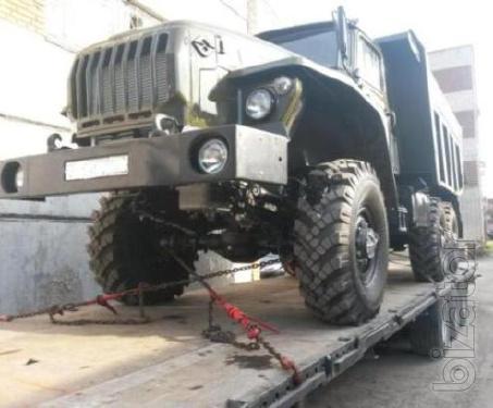 Автомобиль Урал 55571 самосвал совок