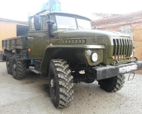 Бортовой а/м Урал 4320