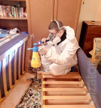 Служба по борьбе с тараканами, клопами, клещами Николаев