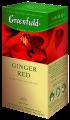 """Чай пакетированный фруктовый Greenfield """"Ginger Red"""" 25шт с ароматом имбиря и шиповника"""
