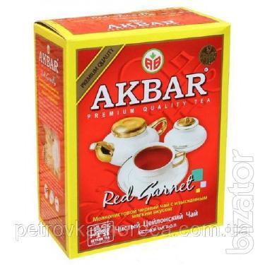 Чай черный среднелистовой Akbar 500г