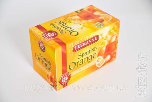 "Чай пакетированный Teekanne ""Spanish Orange"" 20шт 35г Апельсин-яблоко"