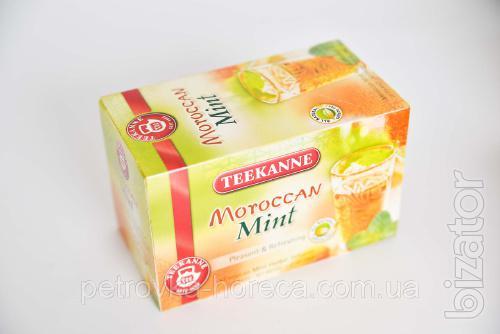 """Чай пакетированный Teekanne """"Moroccan Mint"""" 20шт 35г Марокканская мята"""