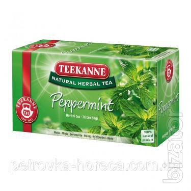 """Чай пакетированный Teekanne """"Peppermint"""" 20уп 35г Мята"""