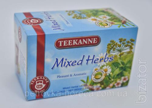 "Чай пакетированный Teekanne Микс трав ""Mixed herbs"" 20шт 40г Ройбуш-"