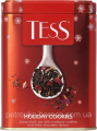 "Чай Черный TESS ""Holiday cookies"" 110гр Банка"