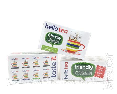 Чай Hello tea Mint green 20шт Мята