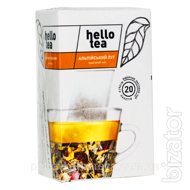 Чай Hello tea Alpine meadow 20шт Альпийский луг