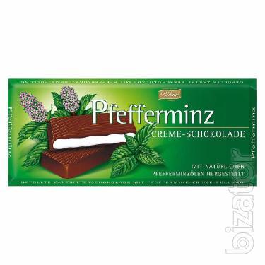 Шоколад  мята 100г