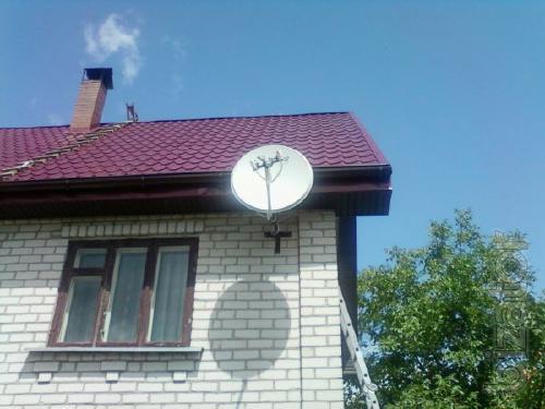 Купить установить настроить тарелка спутниковая недорого Киев