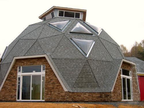 Добросфера - это обычный каркасный дом с минимальной стоимостью каркаса