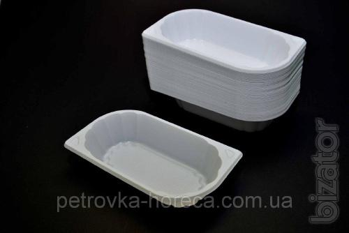 Тарелка пластиковая ФРИ 100шт