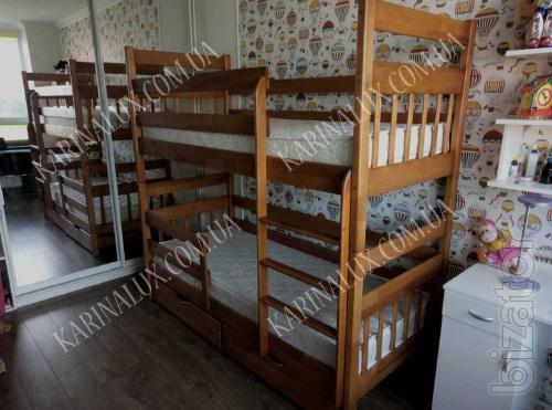 Отличная двухъярусная кровать Колобок - производителя + подарок.