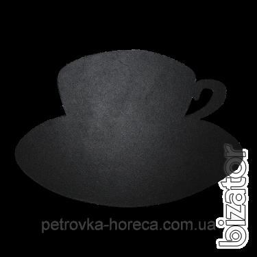 Доска меловая фигурная Чашка
