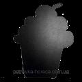 Доска меловая фигурная Кекс