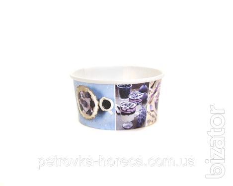 """Креманка"""" 280мл 50шт/уп для мороженого"""