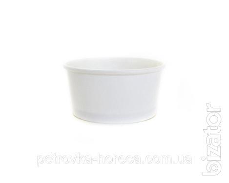 Креманка Белая 280мл 50шт/уп для мороженого