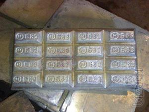Продам Баббит Б-83 Висмут Олово Припои ПОС-30-40-61-90