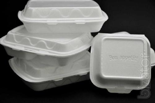 Упаковка для фастфуда - бумага, пластик, ланчбоксы.