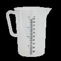Мерная пластиковая кружка объемом 1 л