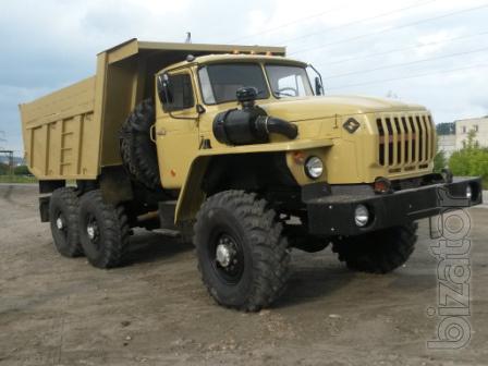 самосвал Урал 55571 совок